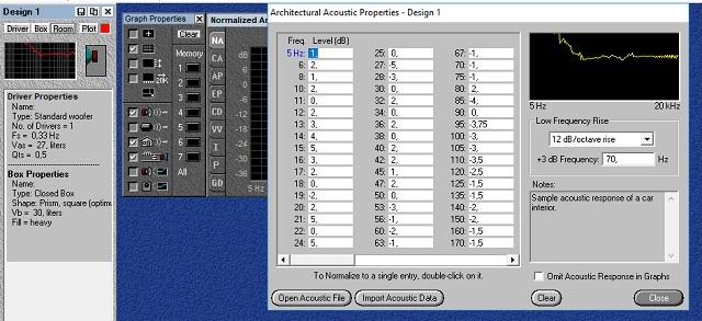 Передаточная функция салона Bass Box pro