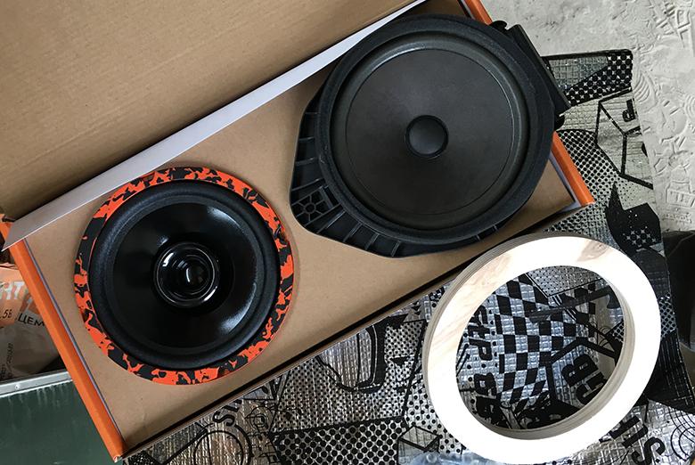 Gryphon-Lite-165 замена штатки