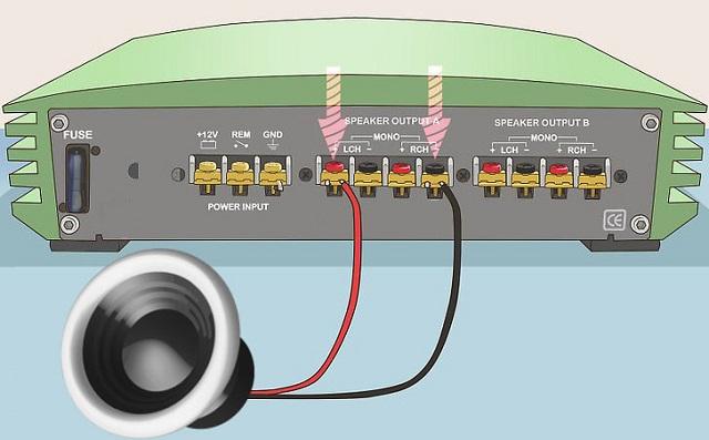 Мостовое подключение 4х канальника